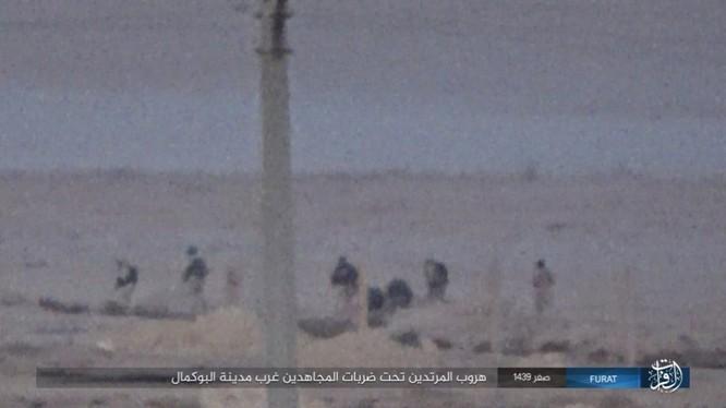Liên quân Syria tung đòn tiêu diệt IS tại tử địa Albukamal (video) ảnh 15