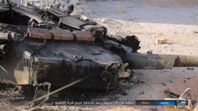 """""""Hổ Syria"""" bóc mẽ chiến tích diệt T-90 của IS ảnh 2"""