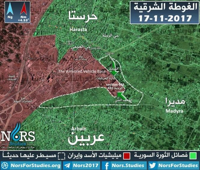 Quân Syria bại trận tại ngoại vi Damascus, Vệ binh Cộng hòa sắp phản công ảnh 6