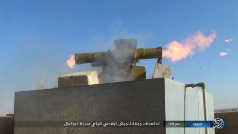 Không quân Nga xung trận cùng quân Syria chiếm được 3/4 thành Albukamal ảnh 2
