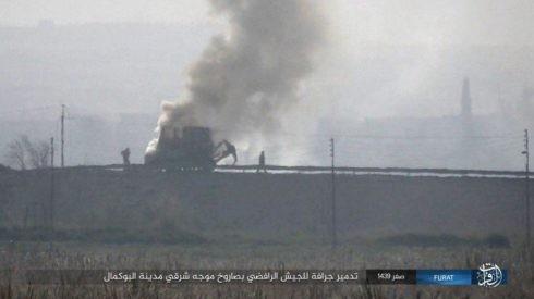 Không quân Nga xung trận cùng quân Syria chiếm được 3/4 thành Albukamal ảnh 3