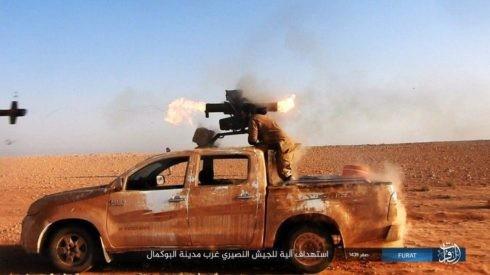Không quân Nga xung trận cùng quân Syria chiếm được 3/4 thành Albukamal ảnh 4