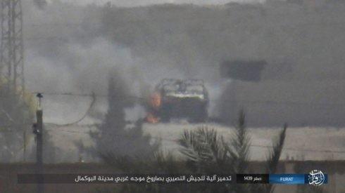 Không quân Nga xung trận cùng quân Syria chiếm được 3/4 thành Albukamal ảnh 5