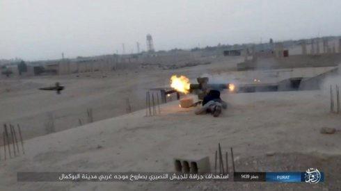 Không quân Nga xung trận cùng quân Syria chiếm được 3/4 thành Albukamal ảnh 6