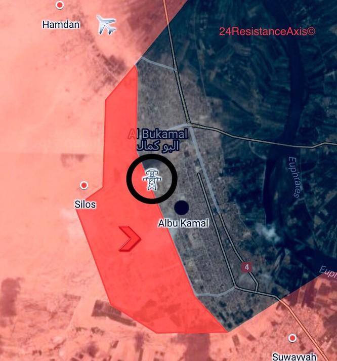 Liên quân Syria đánh tràn vào sào huyệt Al-Bukamal, IS thất thủ (video) ảnh 2
