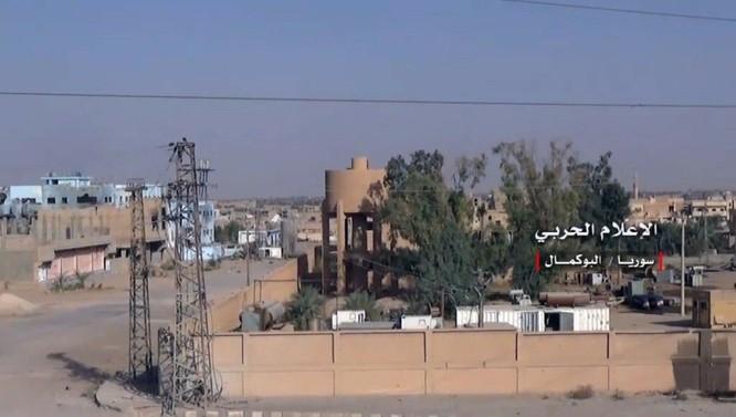 Liên quân Syria đánh tràn vào sào huyệt Al-Bukamal, IS thất thủ (video) ảnh 4