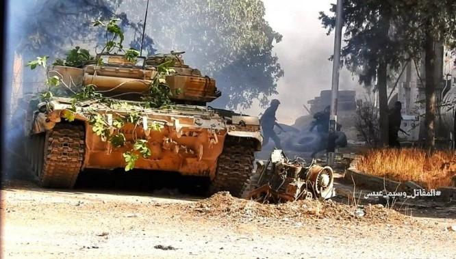 Chiến sự Syria: Quân Assad phản công tái chiếm địa bàn ngoại vi Damascus ảnh 6