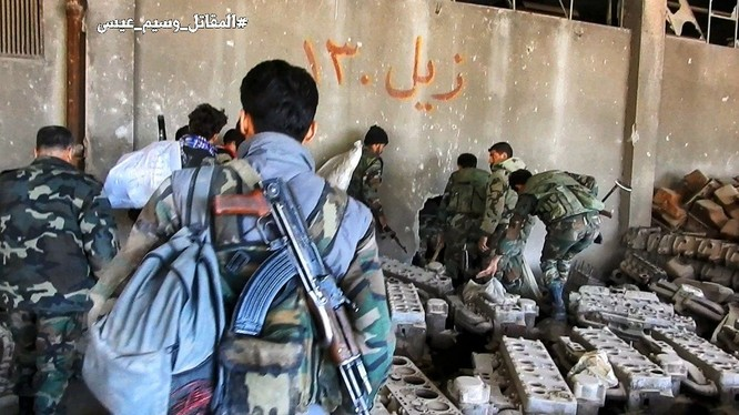 Chiến sự Syria: Quân Assad phản công tái chiếm địa bàn ngoại vi Damascus ảnh 11
