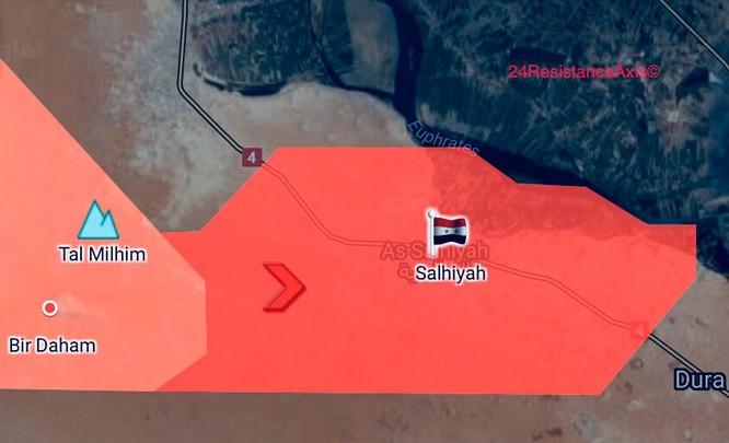 Liên quân Syria đè bẹp IS, chiếm sào huyệt cuối cùng Albukamal (video) ảnh 1