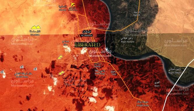 Ba trận quyết chiến kết liễu IS trên chiến trường Deir Ezzor, Syria (video) ảnh 1