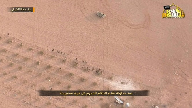 Quân Syria thua thảm trước phiến quân trên chiến trường Hama ảnh 1