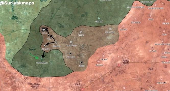 Chiến sự Syria: IS bất ngờ tung đòn chiếm hàng chục địa bàn ở Hama ảnh 2