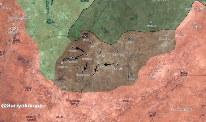 Chiến sự Syria: IS bất ngờ tung đòn chiếm hàng chục địa bàn ở Hama ảnh 3