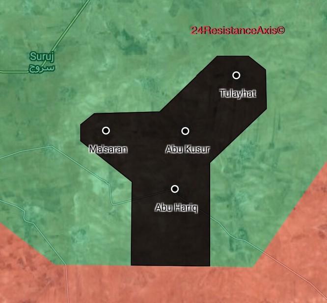 Chiến sự Syria: IS bất ngờ tung đòn chiếm hàng chục địa bàn ở Hama ảnh 1