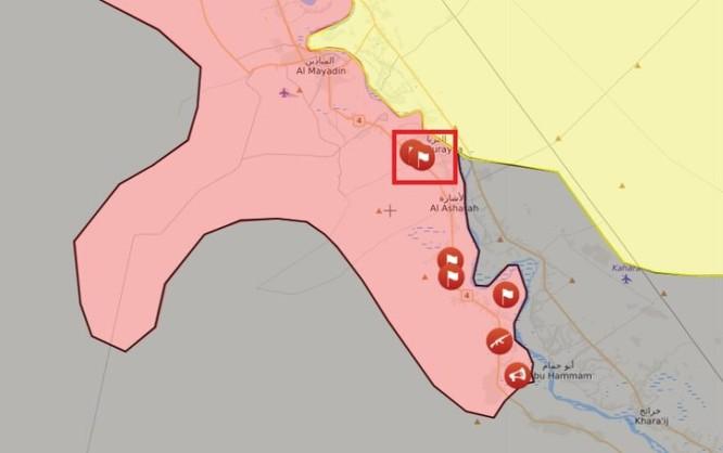 """Nga yểm trợ, """"Hổ Syria"""" tiến chiếm thị trấn IS ở tây Euphrates ảnh 1"""