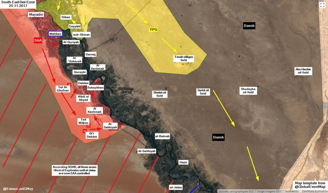 IS thí quân chặn quân đội Syria, Mỹ yểm trợ 30.000 lính Kurd đua chiếm đất ảnh 1
