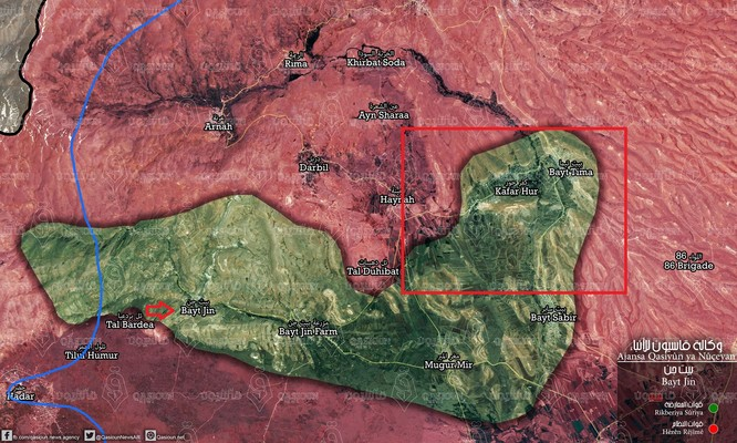 Quân Syria ác chiến với Al-Qaeda tại Golan ảnh 1