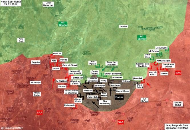 Chiến sự Syria: Quân chính phủ quyết chiếm 2 thị trấn chiến lược ở Hama ảnh 1