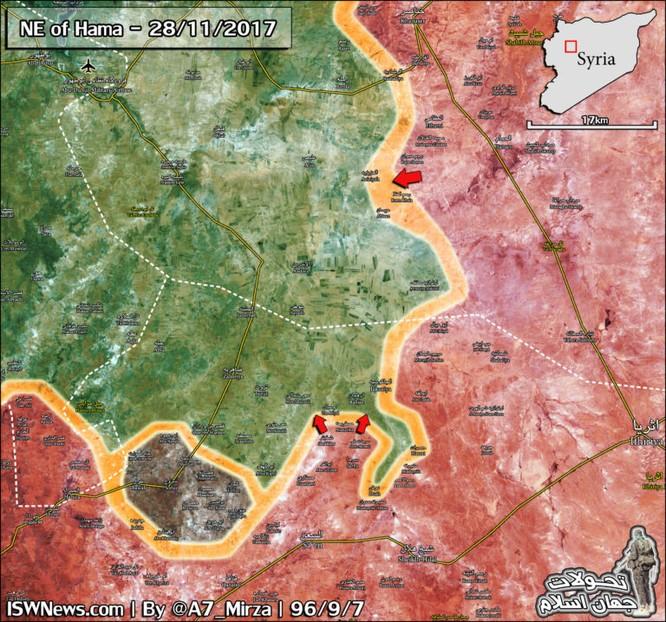 Quân đội Syria tràn lên chiếm hàng loạt địa bàn then chốt nam Aleppo ảnh 3