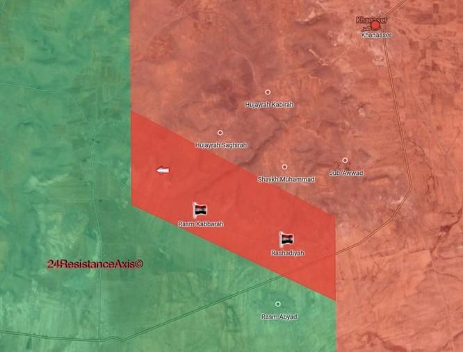 Quân đội Syria tràn lên chiếm hàng loạt địa bàn then chốt nam Aleppo ảnh 1