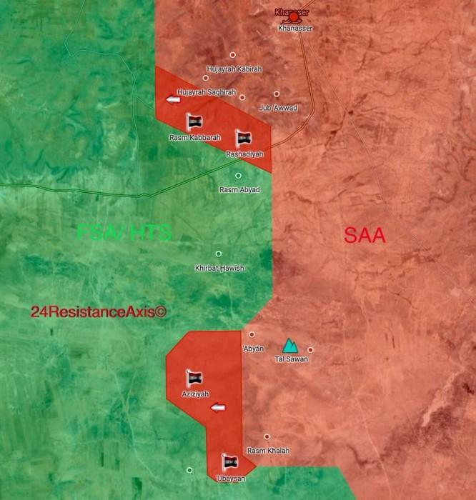 Quân đội Syria tràn lên chiếm hàng loạt địa bàn then chốt nam Aleppo ảnh 2