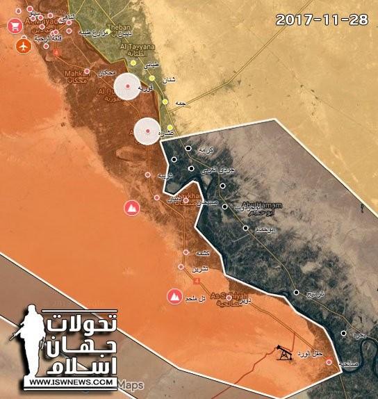 """Trận tử chiến giữa """"Hổ Syria"""" và IS trong thung lũng Euphrates ảnh 1"""