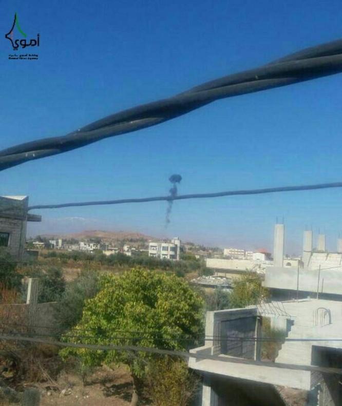 Phiến quân nói bắn rơi trực thăng Syria trên cao nguyên Golan ảnh 1