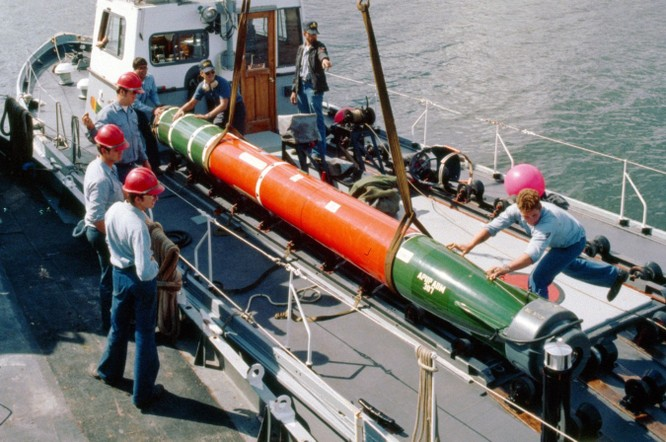 """Trung Quốc coi chừng, hải quân Mỹ đã """"lên đời"""" ngư lôi ảnh 1"""