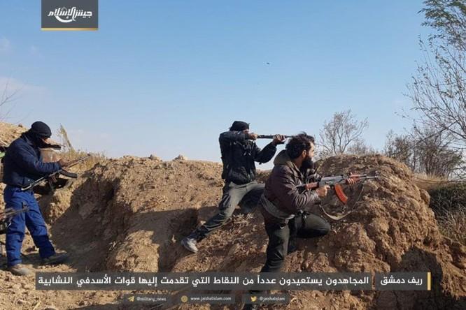 Gần 50 binh sĩ Syria thiệt mạng trong trận ác chiến cuối năm ảnh 2