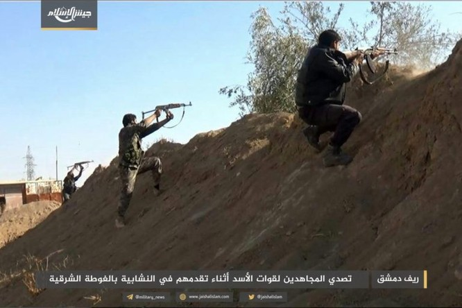 Gần 50 binh sĩ Syria thiệt mạng trong trận ác chiến cuối năm ảnh 4