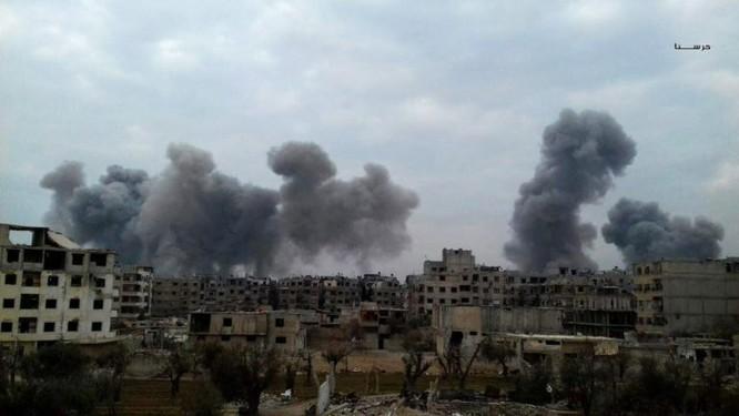 Gần 50 binh sĩ Syria thiệt mạng trong trận ác chiến cuối năm ảnh 8