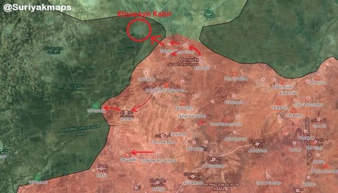 """""""Hổ Syria"""" chủ công băm nát địch, đoạt cứ địa phiến quân tại Idlib ảnh 1"""