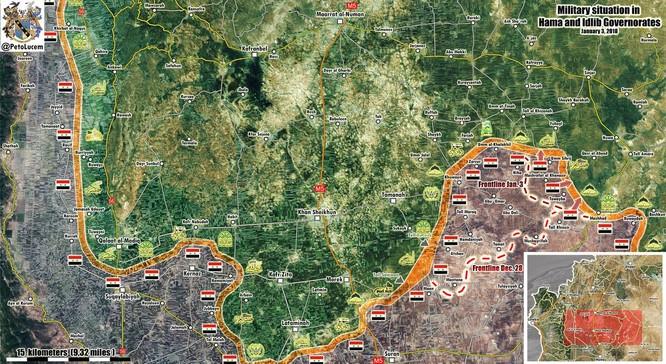 """""""Hổ Syria"""" xung trận đoạt liền 12 cứ địa phiến quân tại sào huyệt Idlib ảnh 1"""