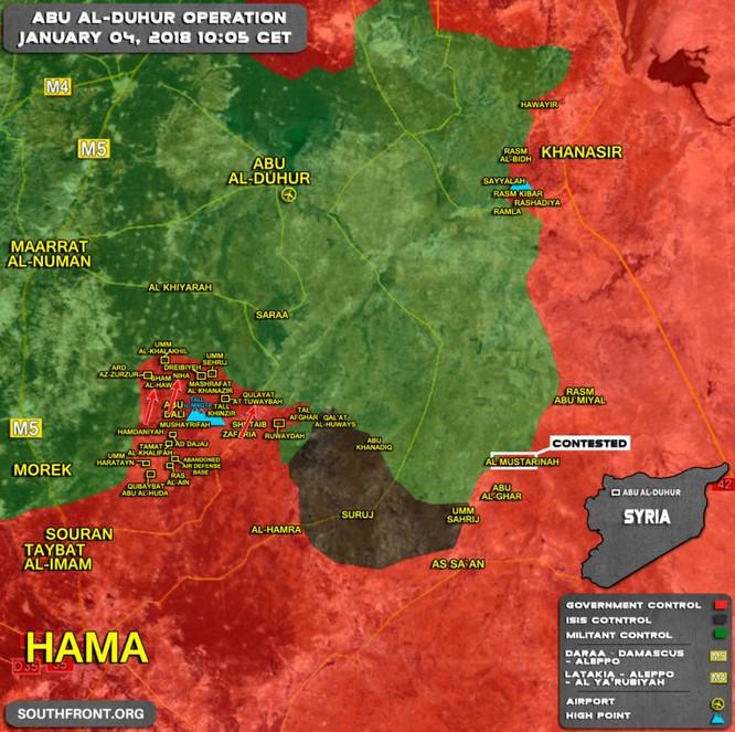 Quân đội Syria đánh chiếm 9 cứ địa tại sào huyệt khủng bố Idlib ảnh 1