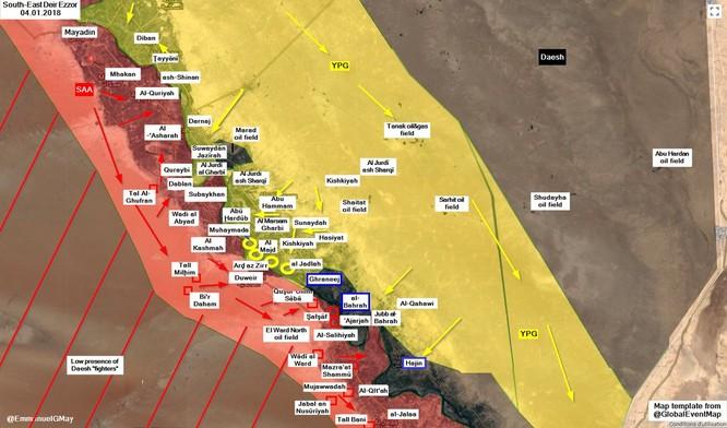 Tàn binh IS bị người Kurd Syria truy diệt trên chiến trường Deir Ezzor ảnh 1
