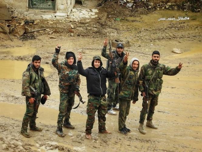 Gần 80 phiến quân Syris bị tiêu diệt trong trận phá vây ven Damascus ảnh 1