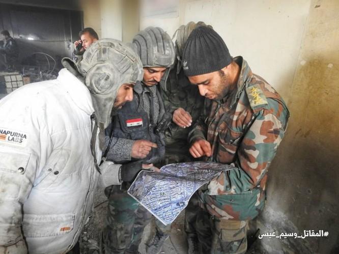 Gần 80 phiến quân Syris bị tiêu diệt trong trận phá vây ven Damascus ảnh 4