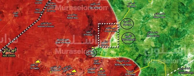 """""""Hổ Syria"""" xung trận trong đêm, đánh chiếm 3 cứ địa phiến quân ở Idlib ảnh 1"""