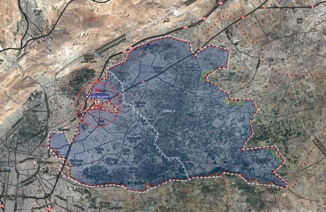 Quân đội Syria phản kích phá vây Đông Ghouta, diệt 2 thủ lĩnh khủng bố ảnh 1