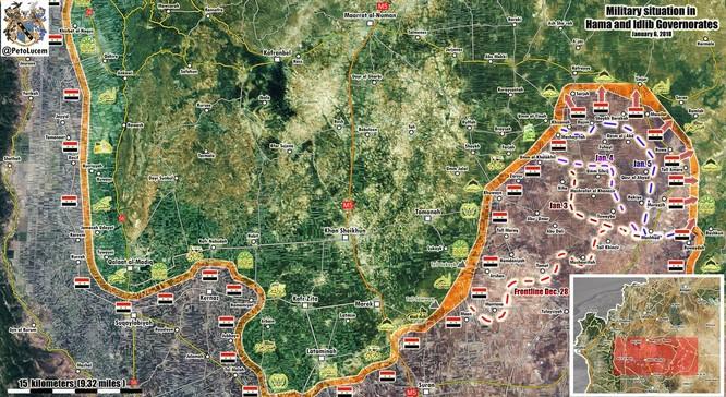 """""""Hổ Syria"""" nghiền nát phiến quân, chiếm liền 9 cứ địa thánh chiến ảnh 1"""