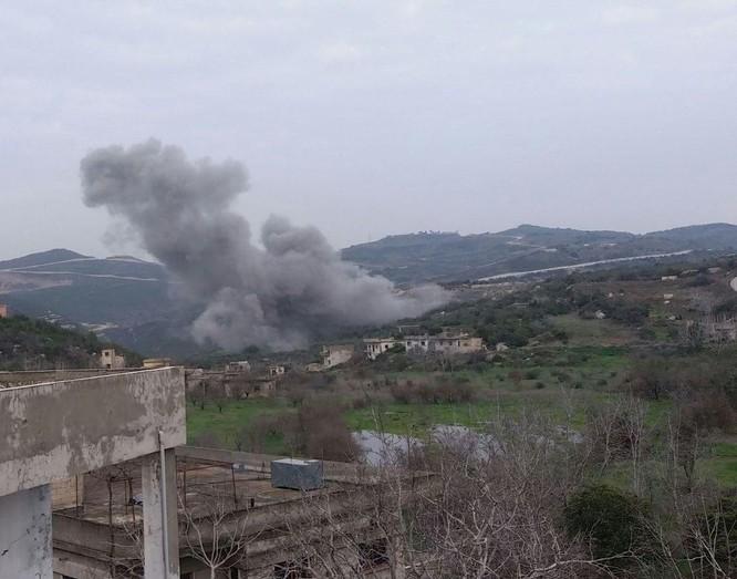 Nga giáng đòn san phẳng nơi phiến quân Syria phát động tấn công căn cứ không quân ảnh 1