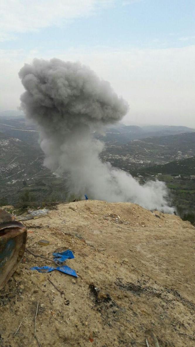 Nga giáng đòn san phẳng nơi phiến quân Syria phát động tấn công căn cứ không quân ảnh 2