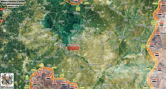 """Đoạt liên tiếp 3 chốt phiến quân, """"Hổ Syria"""" sắp đánh chiếm sân bay Abu Dhuhour ảnh 1"""