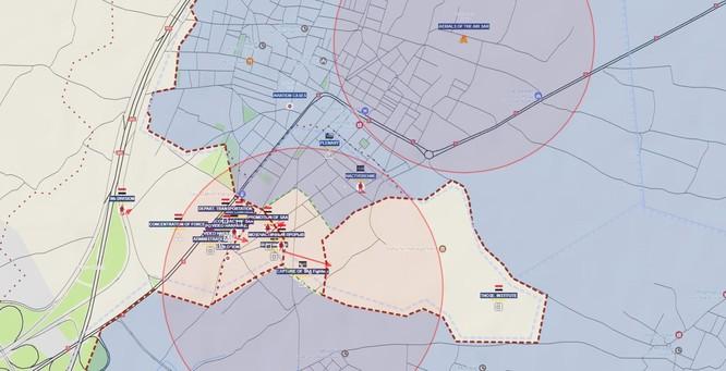 Quân đội Syria đập tan vòng vây, mở rộng tấn công ven Damascus ảnh 1