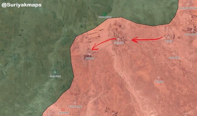 Quân đội Syria ồ ạt tấn công Hama, chiếm liền 3 thị trấn phiến quân ảnh 1
