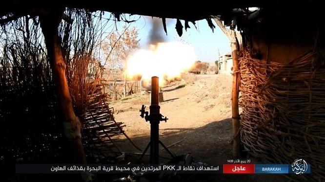 IS đánh du kích, giáng đòn đau người Kurd trên chiến trường Deir Ezzor ảnh 1