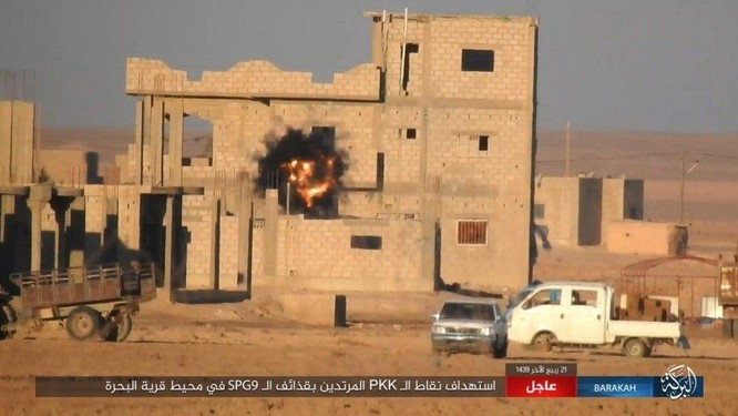 IS đánh du kích, giáng đòn đau người Kurd trên chiến trường Deir Ezzor ảnh 4