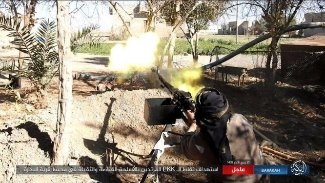 IS đánh du kích, giáng đòn đau người Kurd trên chiến trường Deir Ezzor ảnh 7