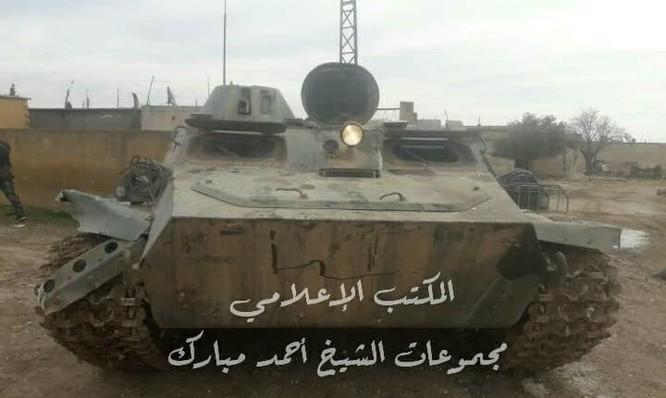 Quân đội Syria đánh bật phiến quân tấn công ở Hama, 4 thủ lĩnh khủng bố mất mạng ảnh 4