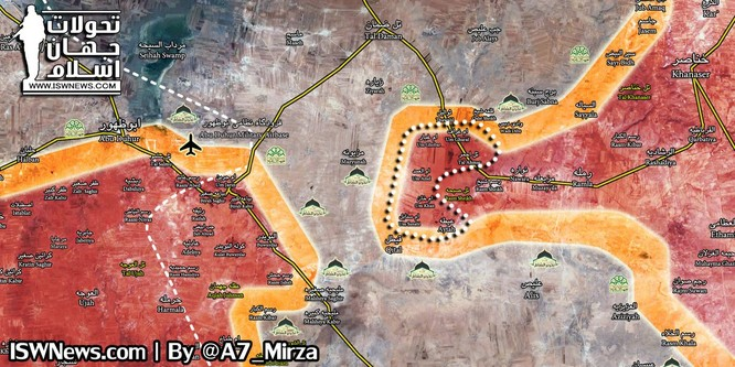 """Chiếm 6 thị trấn, vệ binh cộng hòa sắp hội quân với """"Hổ Syria"""" tại Idlib ảnh 1"""